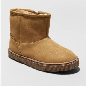 Boys Boots Fall Winter Tan NWT
